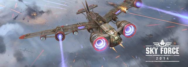 Sky Force 2014 spielen Titel