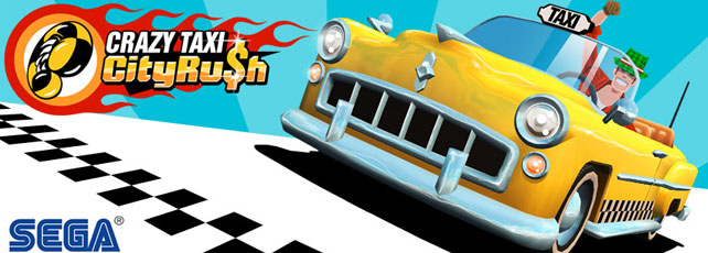 Crazy Taxi City Rush spielen Titel