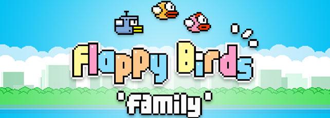 Flappy Birds Famliy Titel