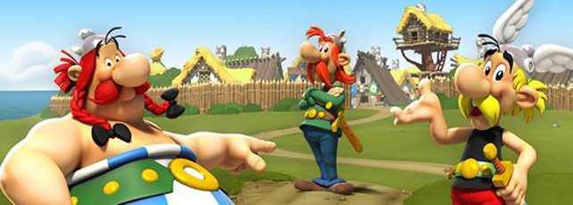 Asterix & Friends Facebook-App