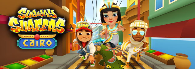 Subway Surfers Kairo Titel