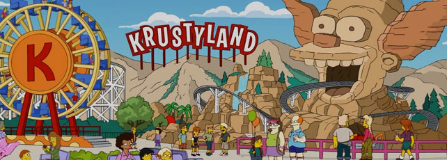 Die Simpsons Springfield Krustyland Header2