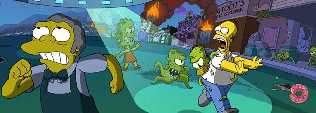 Die Simpsons Springfield Treehous of Horror XXV Header