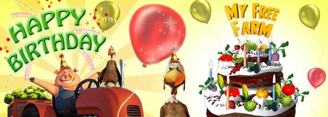 My Free Farm Geburtstag Titel