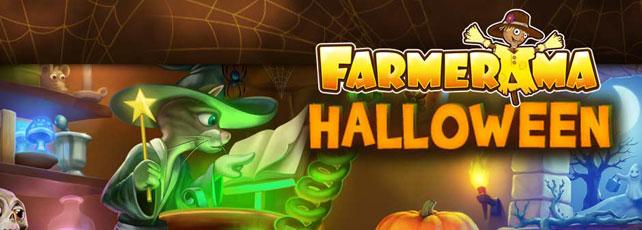 farmerama halloween header