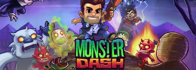 Monster Dash Header