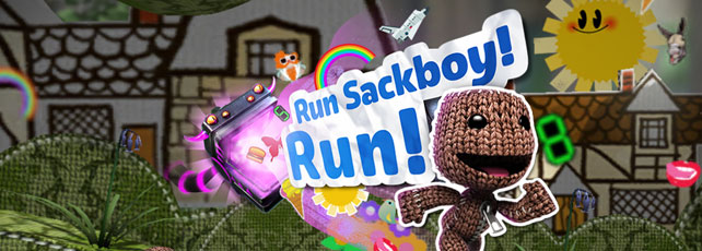 Run Sackboy Run spielen Titel