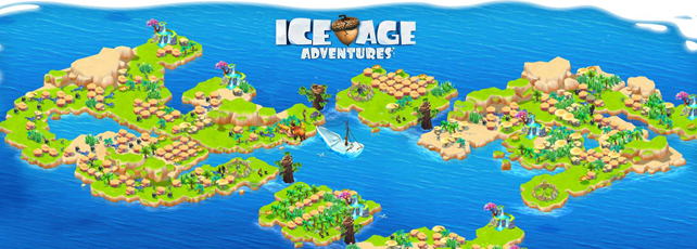 Ice Age Adventures Wellenende Titel