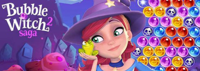 Bubble Witch Saga 2 Valentinstag Titelbild