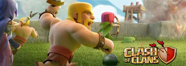 Clash of Clans Clankriege Titel