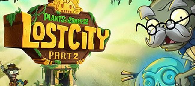 Plants vs. Zombies 2 Die Verlorene Stadt Teil 2
