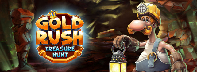 Gold Rush - Treasure Hunt HMTL5 Game