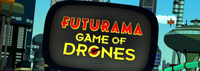 futurama: game of drones release
