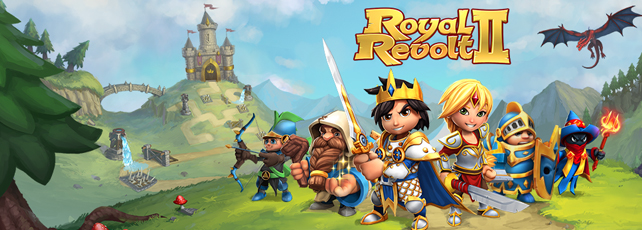 Royal Revolt 2 Version 2.0