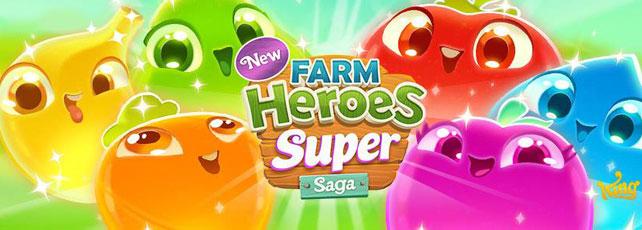 Farm Heroes Super Saga spielen