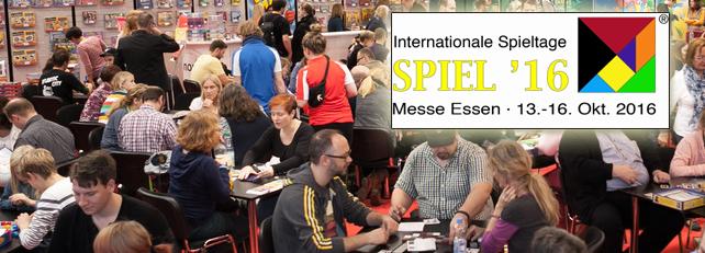 SPIEL '16 - die internationalen Spieltage haben begonnen
