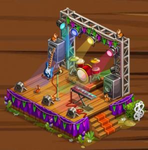 Goodgame Big Farm Bühne gratis Geschenkpaket