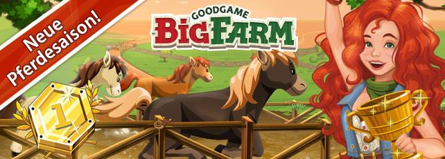 Neue Pferdesaison bei Big Farm