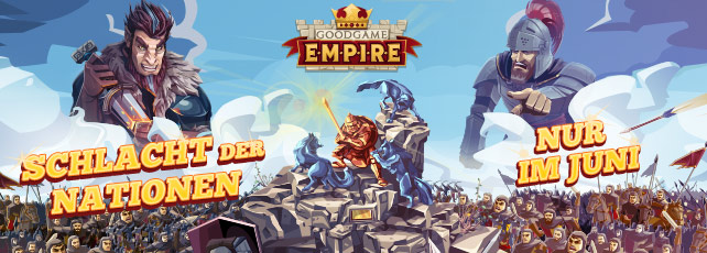 Kampf der Nationen bei Goodgame Empire