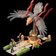 Khans Rache Nomadendeko Adler