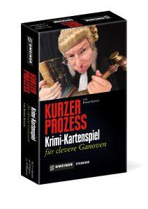 Kurzer Prozess von Reiner Knizia - ein Krimispiel der Superlative