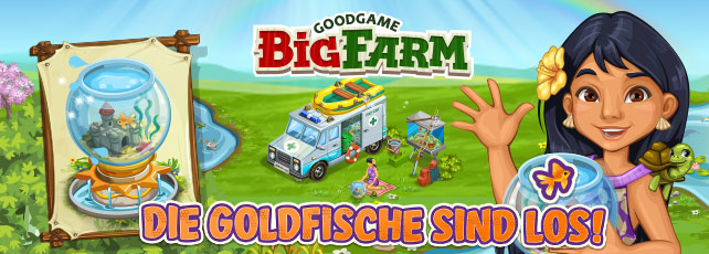 Goodgame Big Farm Goldfisch-Event