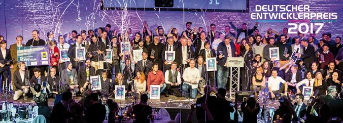 Der Deutsche Entwicklerpreis und seine Gewinner