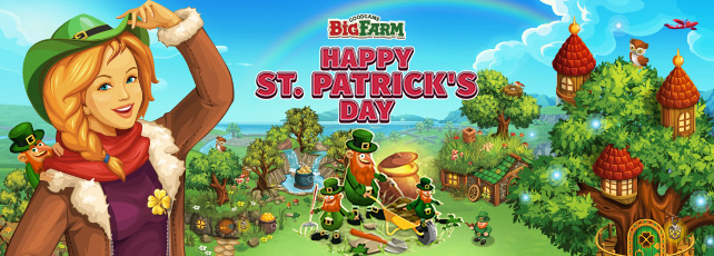 Goodgame März: St. Patrick's Day Big Farm