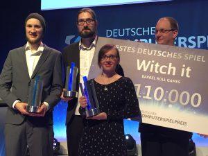 Witch It ist bestes Deutsches Computerspiel