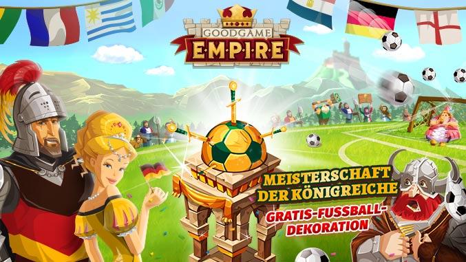 Goodgame Empire Meisterschaft der Königreiche Fußballevents