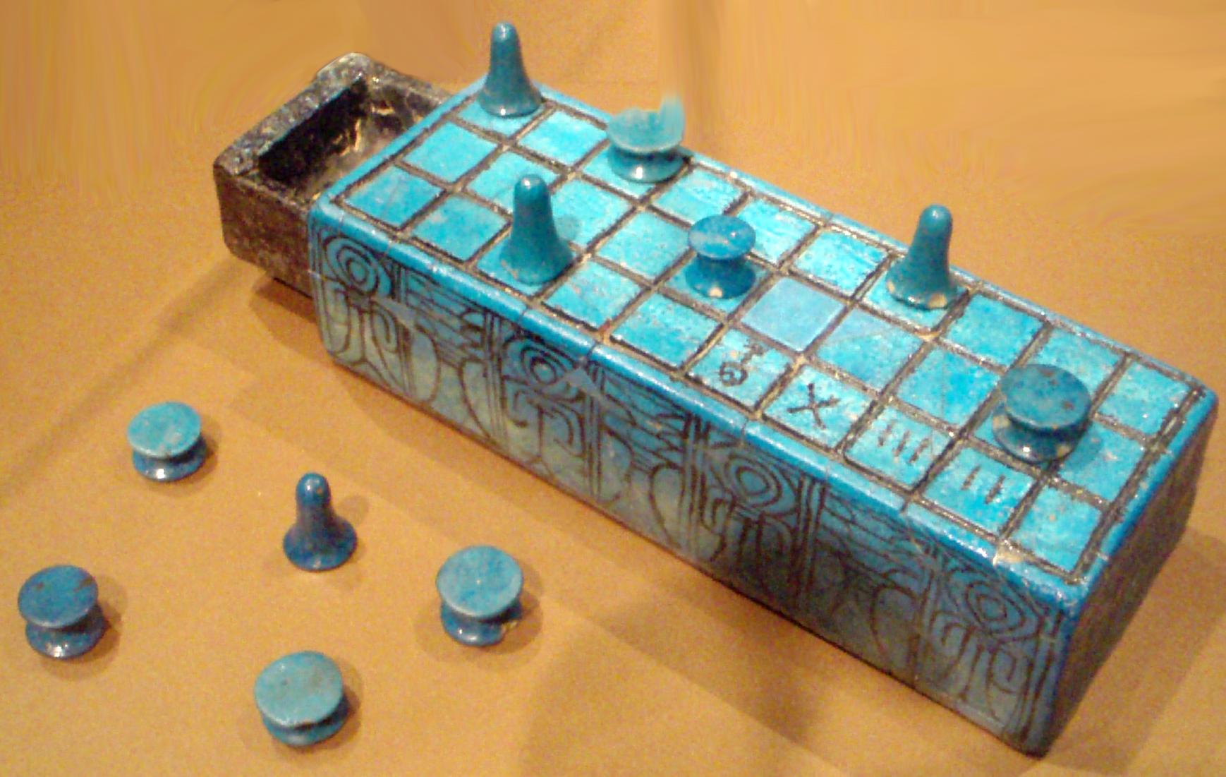 Senet, Ägypten, ab 3,000 v. Chr.