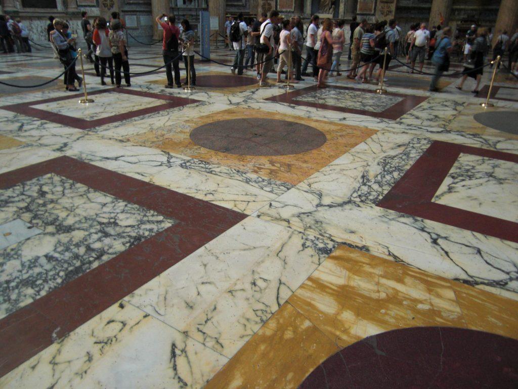 Pantheon in Rom, Geist und Materie