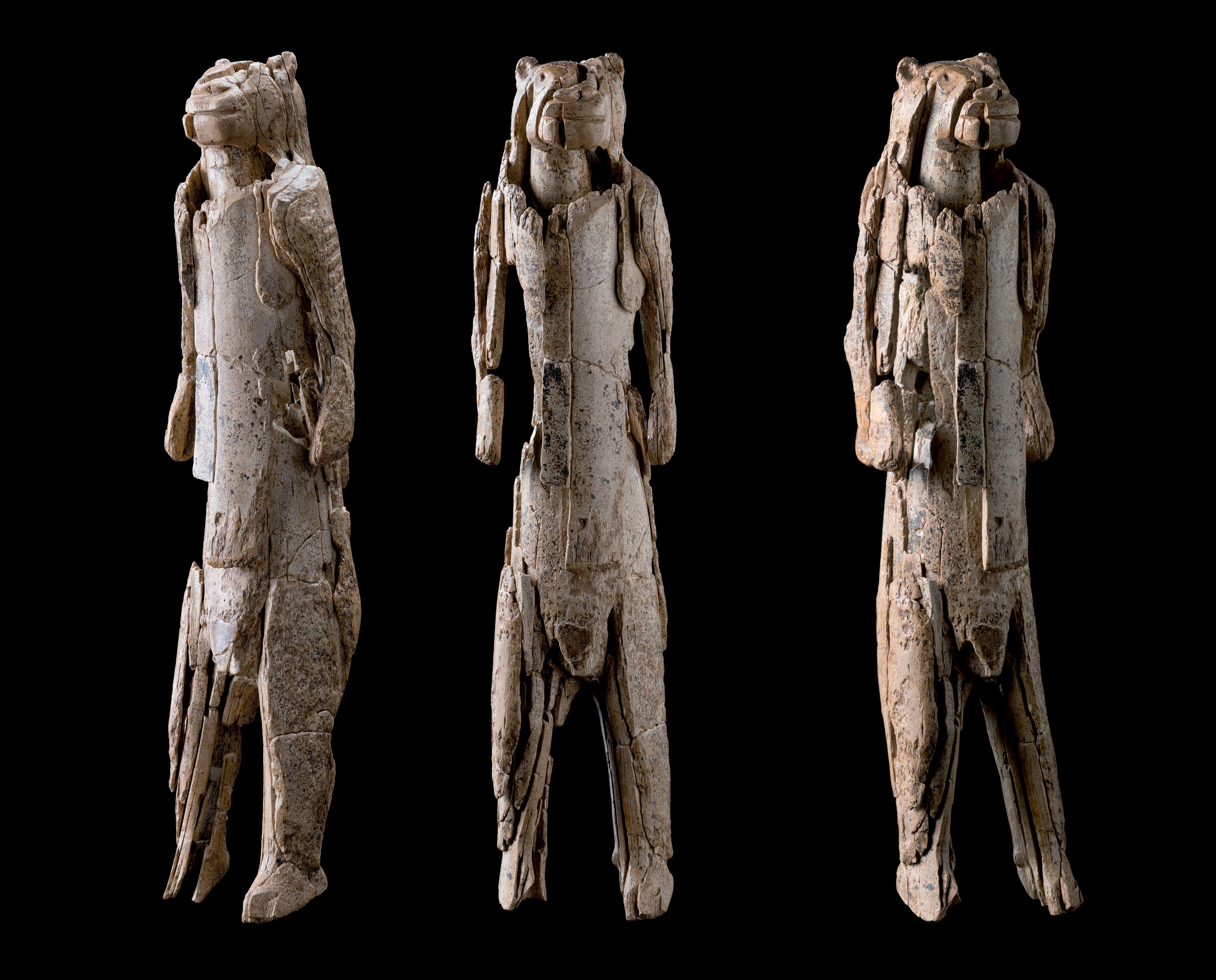 Der Löwenmensch mit drei Ansichten, Stadtmuseum Ulm