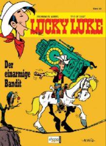 "Morris: ""Lucky Luke - Der einarmige Bandit"", Comic-Band 33, 1982"