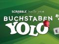 Aus Scrabble wurde fast Buchstaben Yolo.