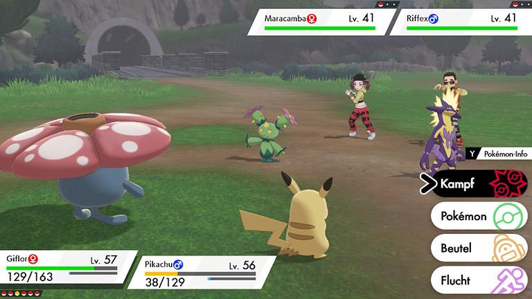 Pokémon Schwert und Schild Doppelkampf