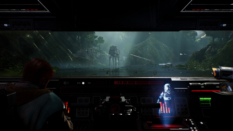 Star Wars Jedi: Fallen Order - AT AT