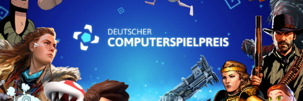 Deustcher Computerspielpreis 2020 header