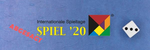 SPIEL '20 abgesagt header