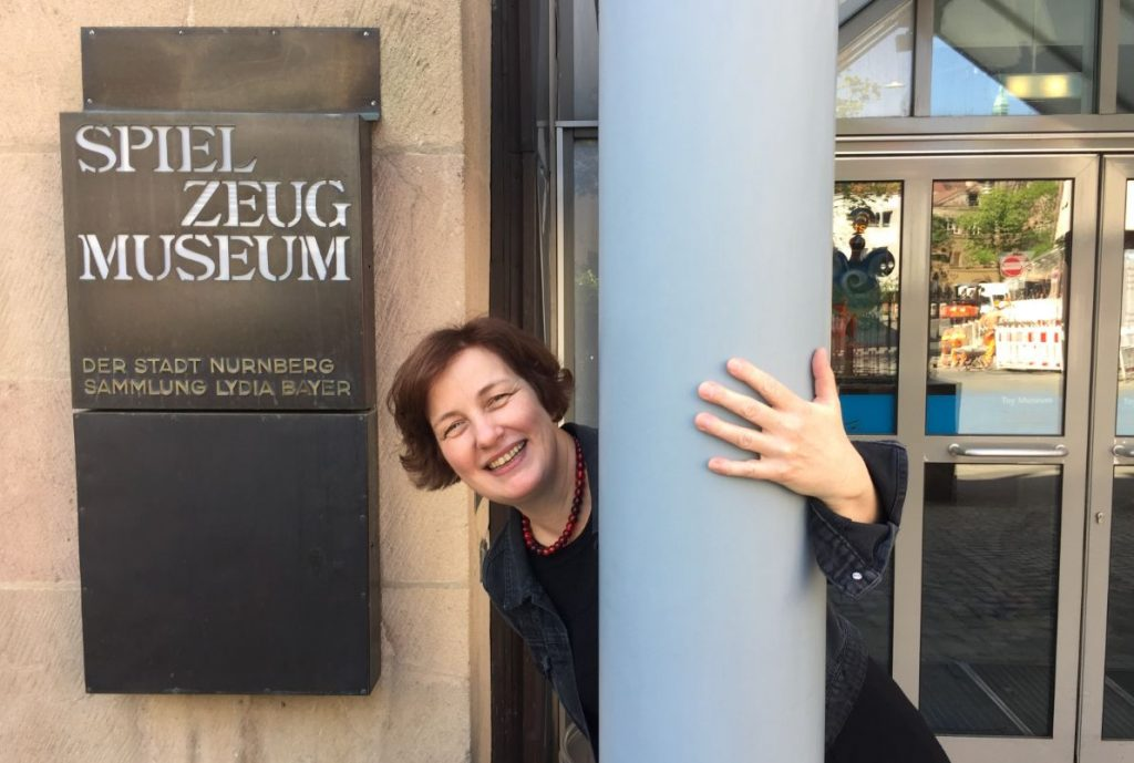 Karin Falkenberg, Leiterin Spielzeugmuseum Nürnberg