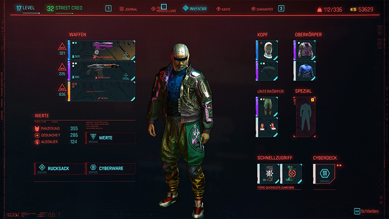 Cyberpunk 2077 - Outfit