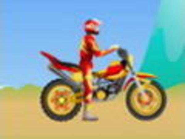 Bild zu Geschick-Spiel Bike Challenge