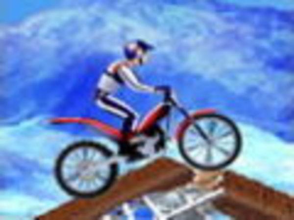 Bild zu Geschick-Spiel Bikemania on Ice
