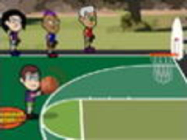 Bild zu Sport-Spiel Bobblehead Basketball