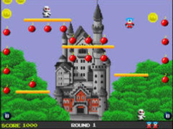 Bild zu Geschick-Spiel Bombjack