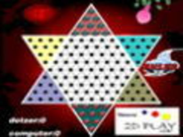 Bild zu Denken-Spiel Chinese Checkers