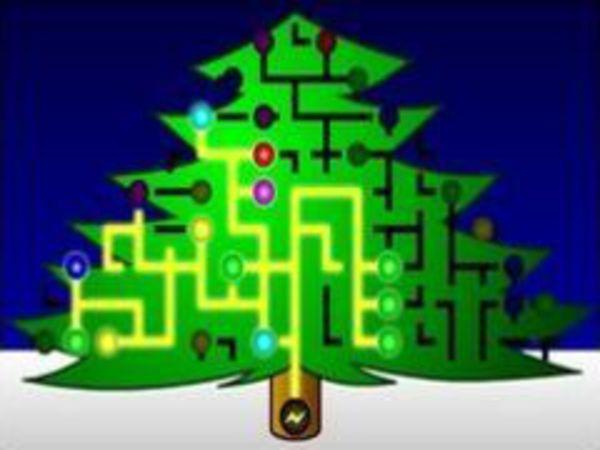 Bild zu Denken-Spiel Christmastree