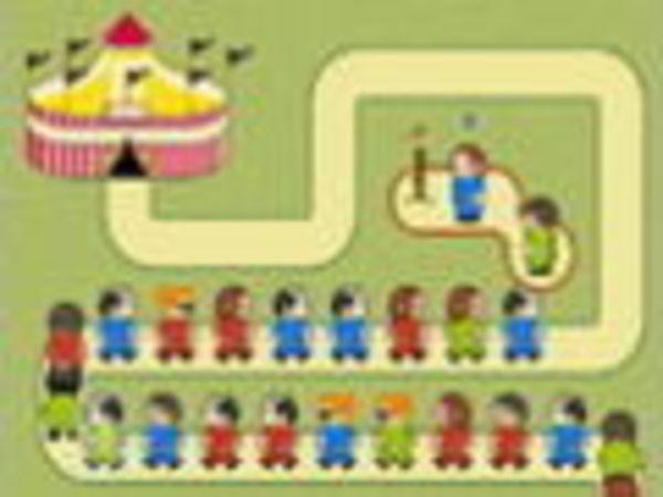 Bild zu Kinder-Spiel Circus Walk