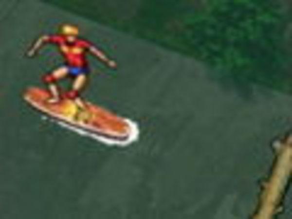 Bild zu Rennen-Spiel City Surfing