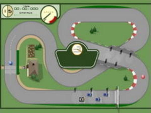 Bild zu Rennen-Spiel Crazy Loop